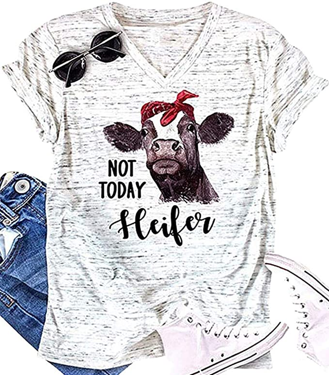 Camiseta - vaca - not - today - vacaslecheras.net