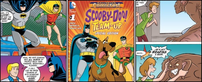 The Brown Bag Scooby Doo Team Up Halloween Special Edition 1