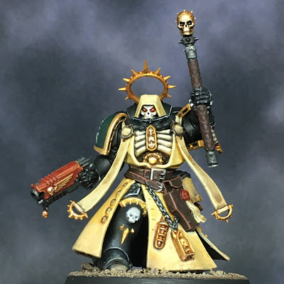Dark Angels Primaris Chaplain