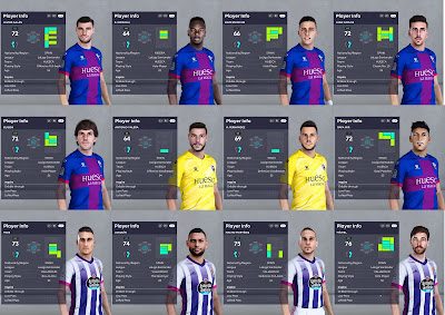 PES 2021 Facepack SD Huesca & Real Valladolid
