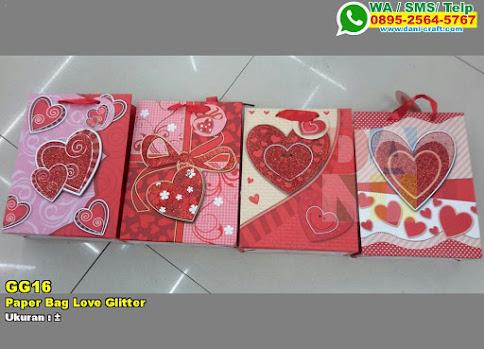 Paper Bag Love Glitter
