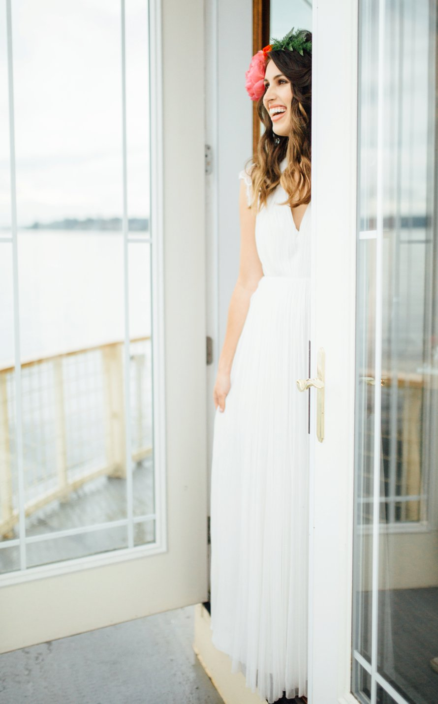 Bright and Airy Modern Tropics Theme Styled Session by Tacoma Wedding Photographer Something Minted