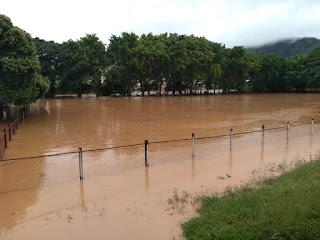 Chove forte em todo o Estado de Minas Gerais na últimas horas