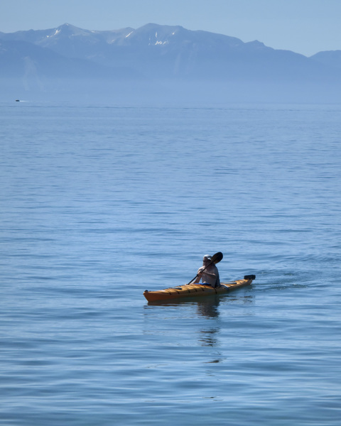Rafting at Lake Tahoe