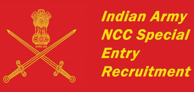 Indian Army NCC Special Entry Recruitment 2021: Apply Online for SSC 49th Course (April 2021)