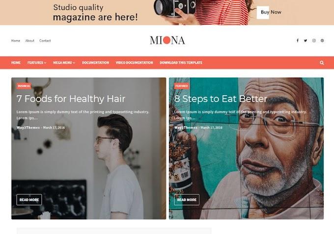 Miona Blogger Template Mod Footer Không Chuyển Hướng