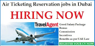 Reservation Agents Recruitment in Travel and Tourism Industry For Dubai