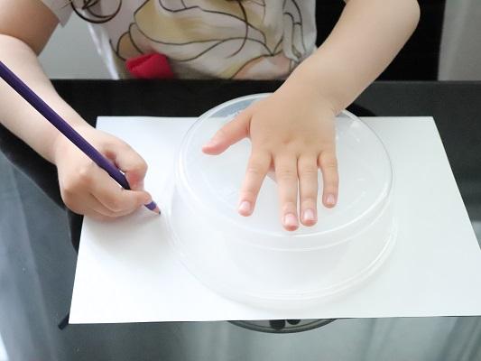 tracer un cercle avec une boîte