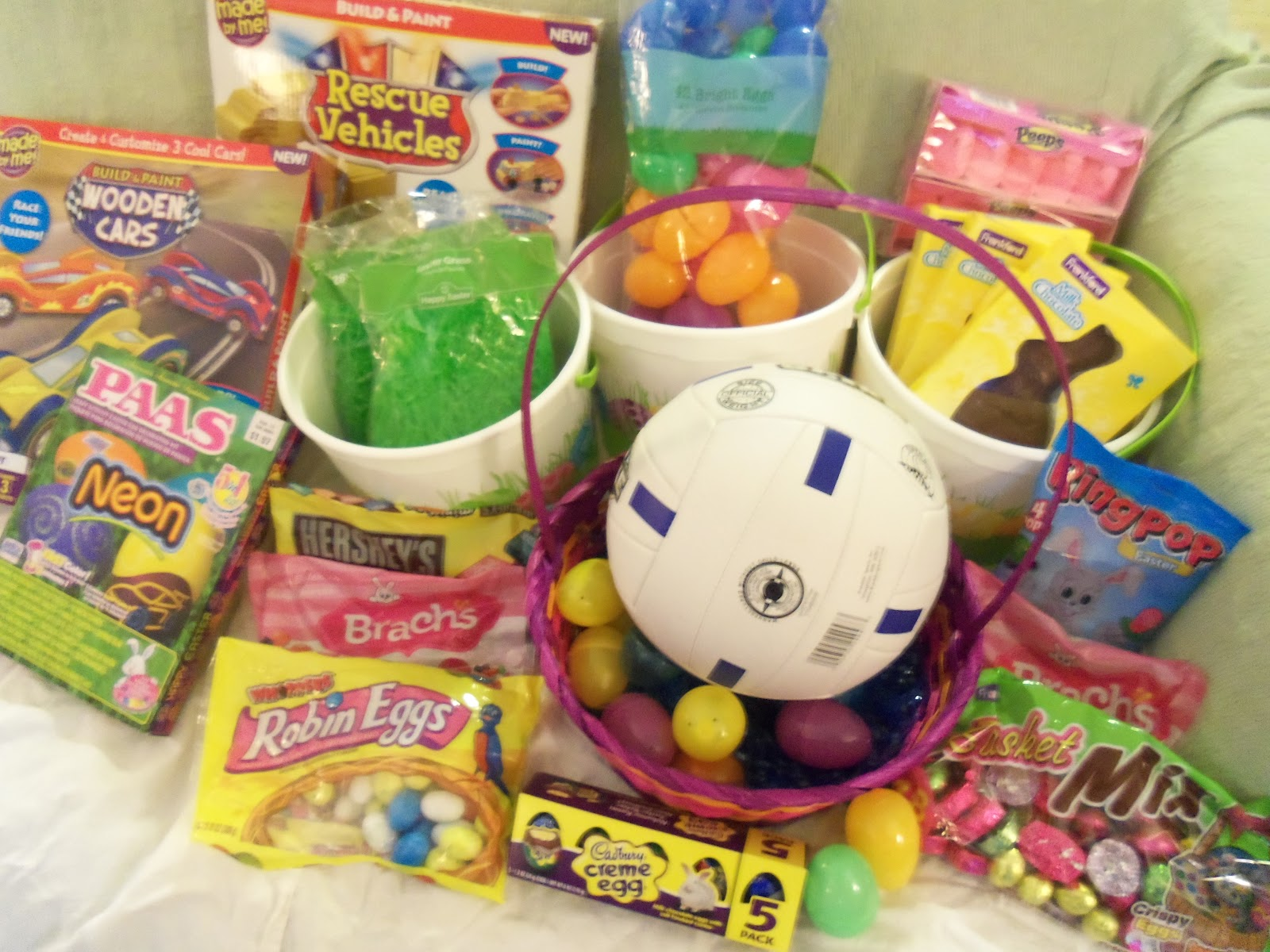 Cheap easter basket ideas for large families lille punkin all of this just 53 negle Choice Image
