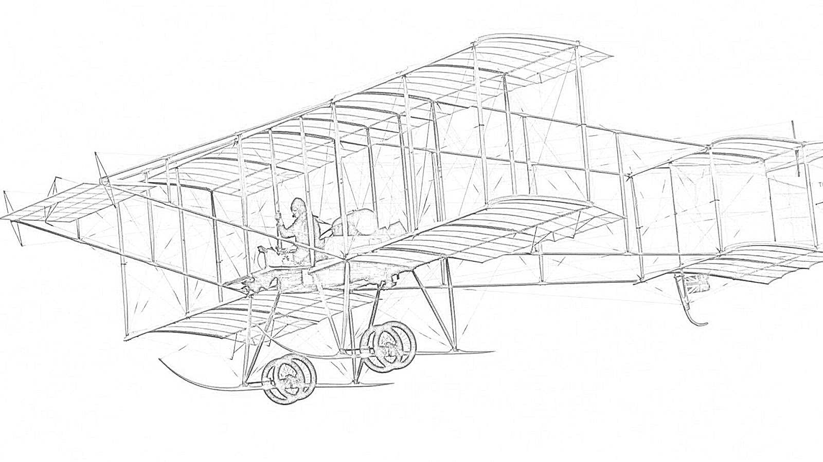 Coloring Pages Biplanes Coloring