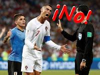 Interjecciones en un partido de fútbol