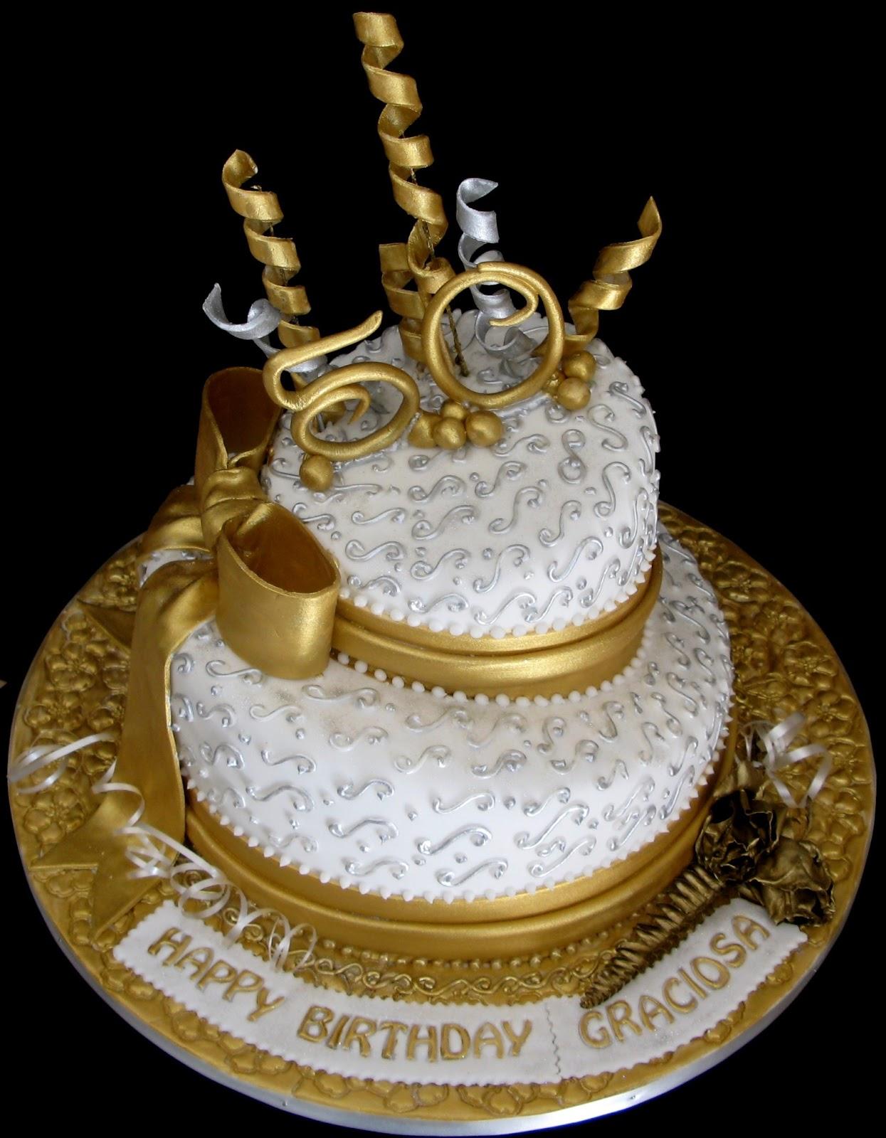 50 Year Old Cake Designs