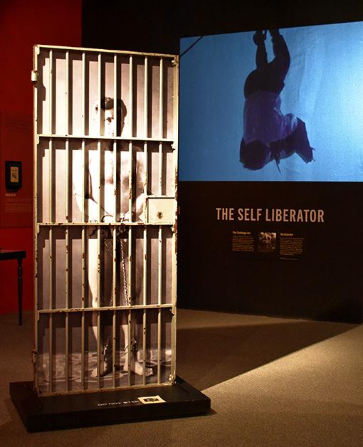 Escape Artist Harry Houdini   Photo: Travis Swann Taylor