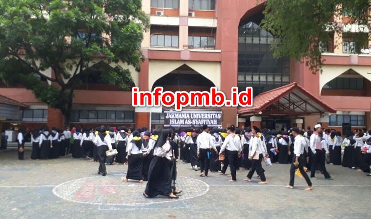 Jadwal Penerimaan Mahasiswa Baru (UIA) Universitas Islam As-syafiiyah
