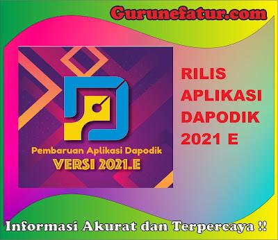 SEGERA UPDATE Aplikasi Dapodik 2021 E