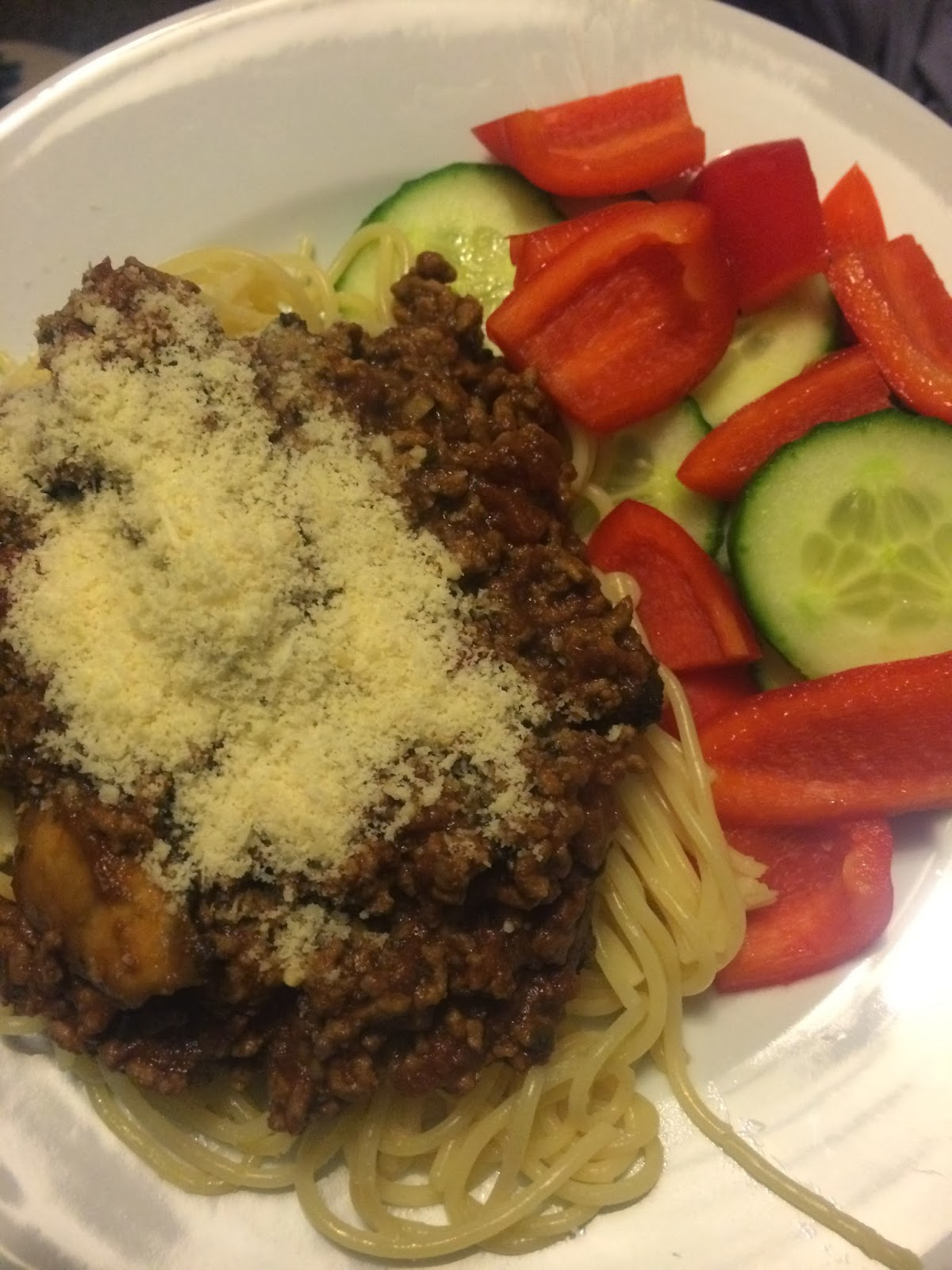 slimming world spaghetti bolognese