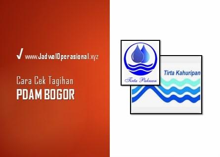 Cek Tagihan PDAM Bogor