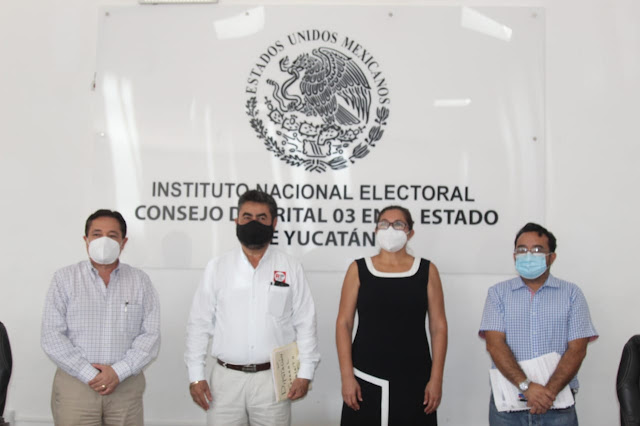 RSP Yucatán registra ante el INE a sus candidatas a diputadas federales de los distritos 3 y 4