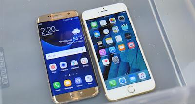 Dijual mahal,berapakah harga produksi Iphone 7 dan galaxy S7