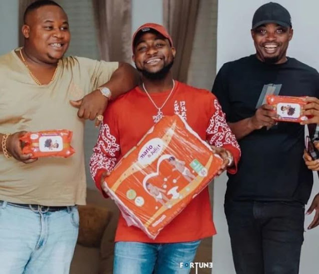 """MAD OOO!!! """"Na Me Go Open Am"""" – Cubana Chiefpriest Leaks Chat With Davido (See Shocking Reason)"""