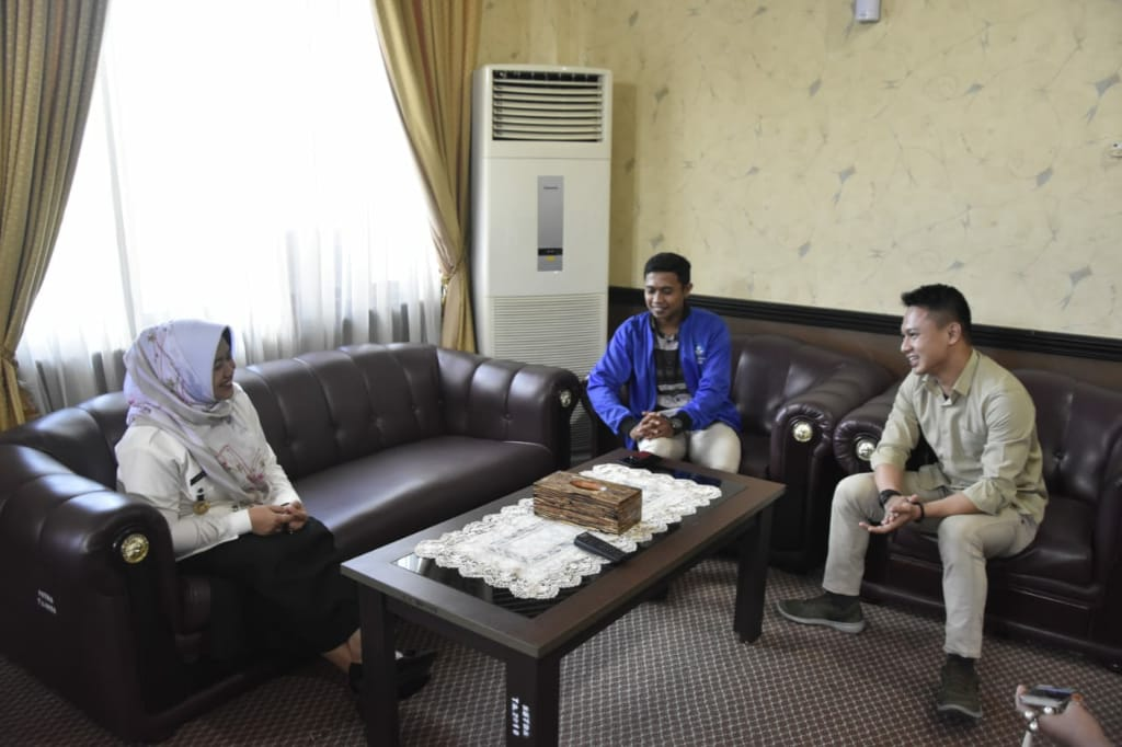 Wabup Sinjai Terima Audience Forum Awardee Beasiswa Unggulan Indonesia Timur