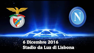 Champions League Benfica Napoli probabili formazioni video