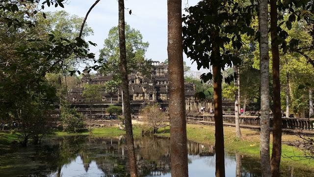 Blick auf die Tempel