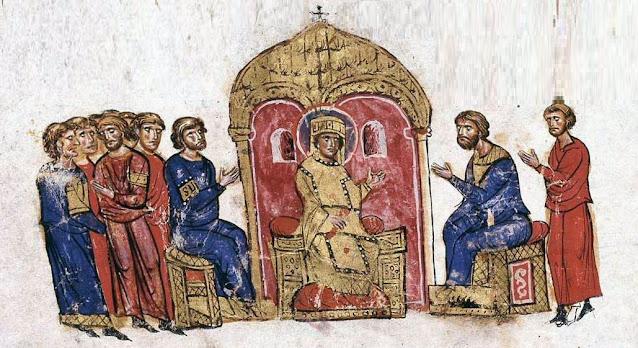 قصة واصل الجدل البيزنطي