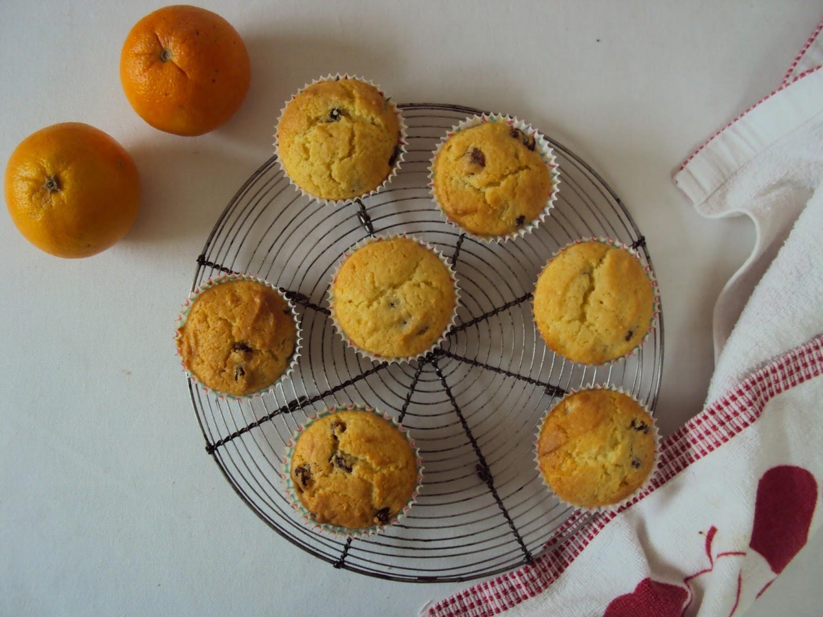Dig In Mum S Orange And Sultana Cupcakes