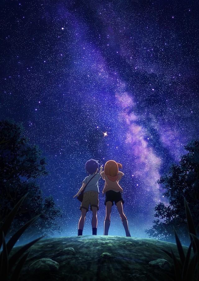 Plakat anime Koisuru Asteroid