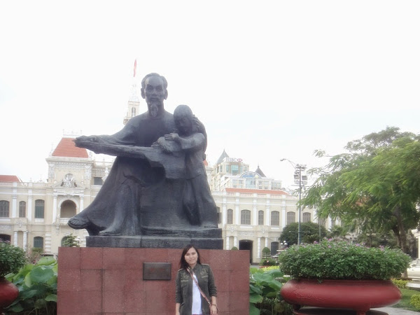 Ho Chi Minh, Vietnam : Upon arrival..