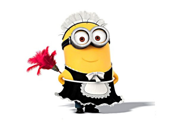 Cute Sweet Little Minions Maid HD Wallpapers