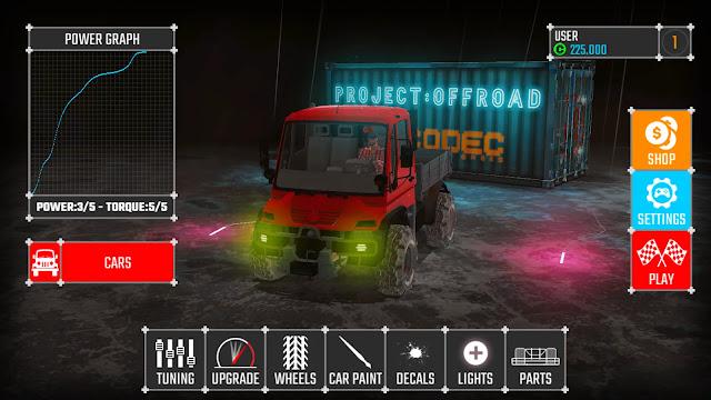 Project Offroad 20 V48.0 MOD APK – PARA / ARABA HİLELİ