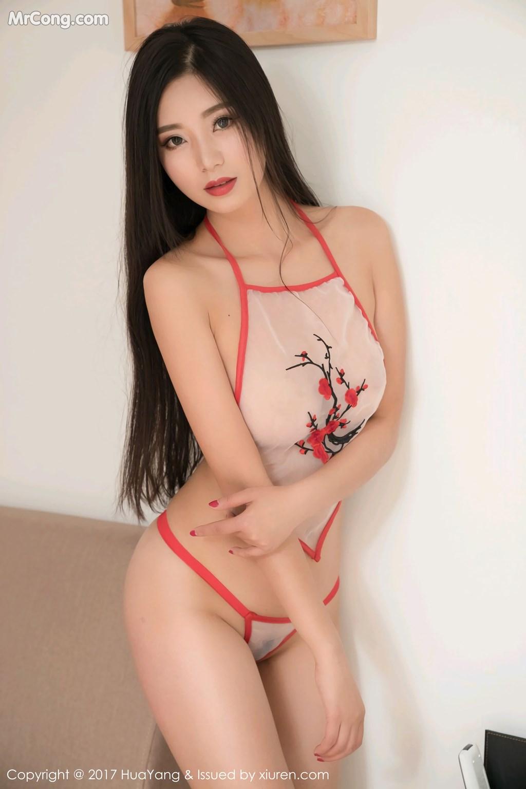 Image HuaYang-2017-11-10-Vol.015-KiKi-MrCong.com-014 in post HuaYang 2017-11-10 Vol.015: Người mẫu 宋-KiKi (45 ảnh)