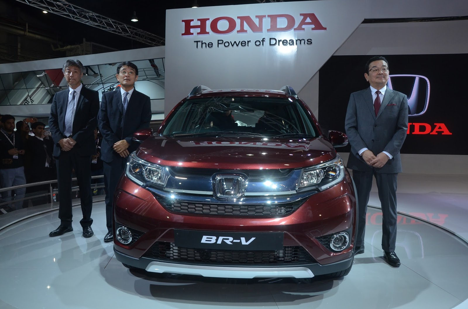Honda BR-V at Auto Expo New Delhi 2016