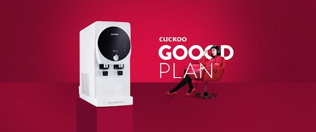 cuckoo goood plan, promosi cuckoo, cuckoo king top