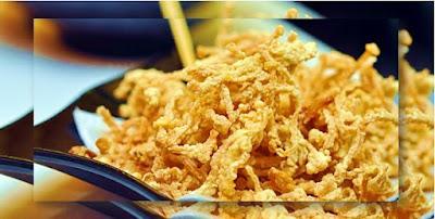Cara Membuat Jamur Enoki Krispi Super Renyah Resep dan Bumbu Jamur Enoki Krispi Super Renyah
