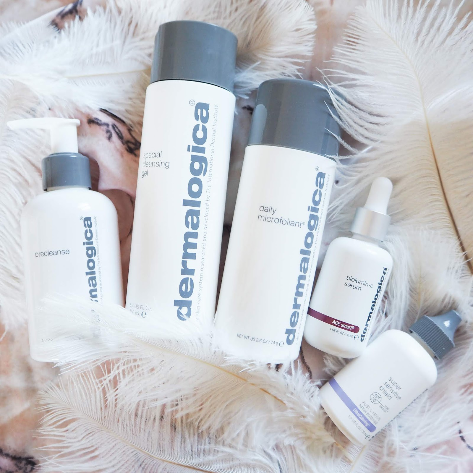 Dermalogica #Skinfluencer Skincare Routine and Mini Reviews