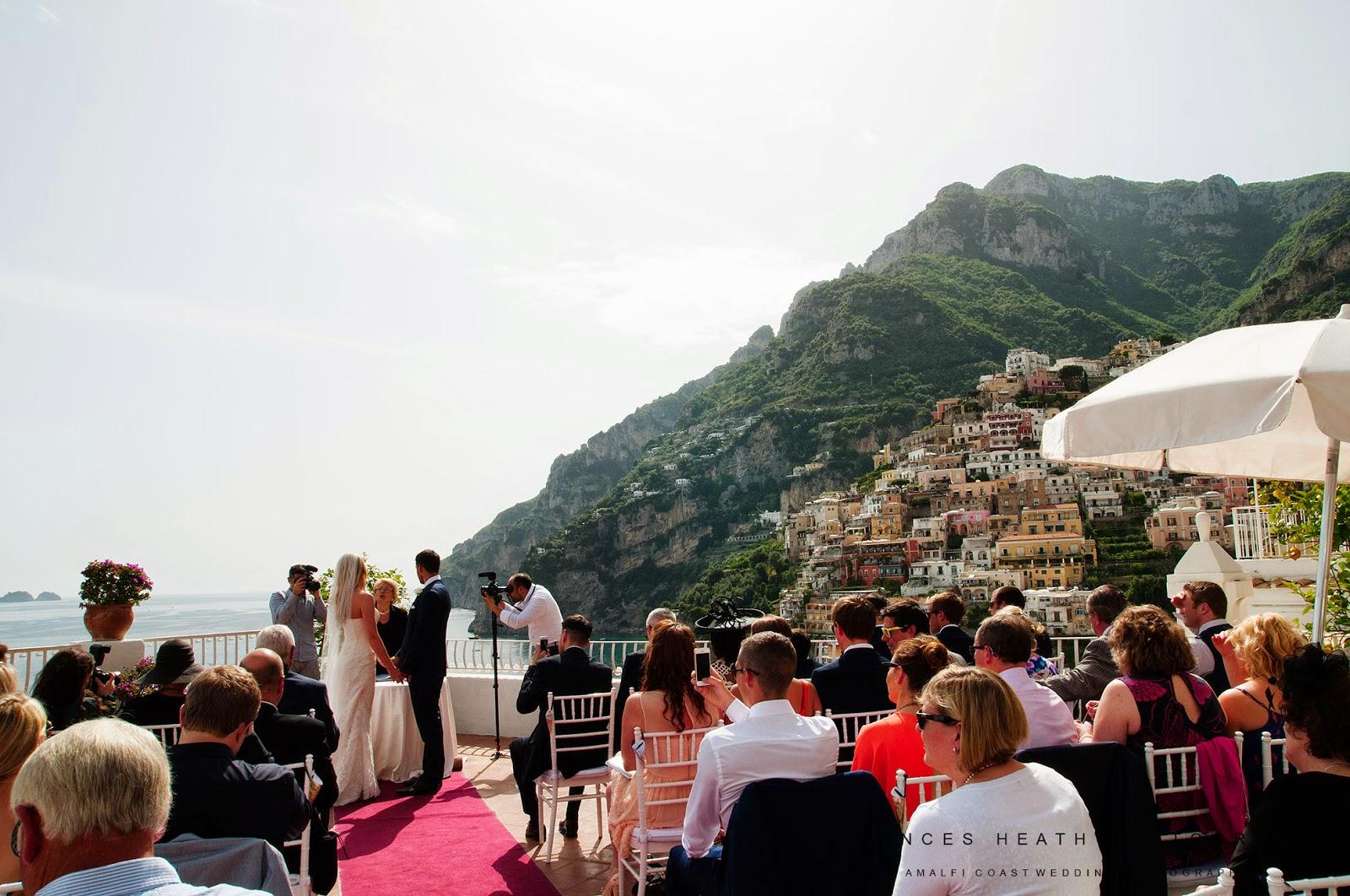 Wedding ceremony at Hotel Marincanto in Positano