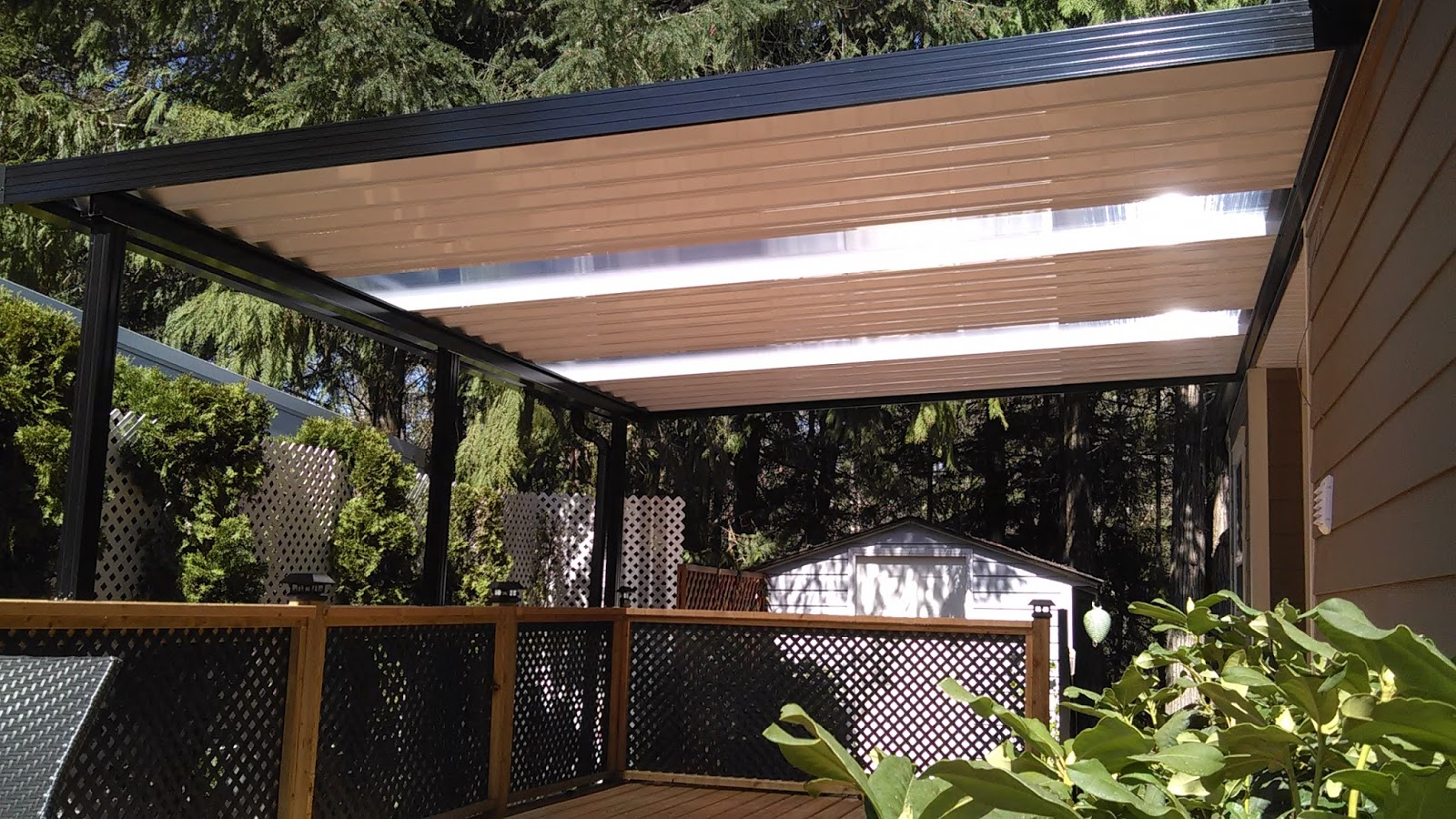 Awnings and Patio Covers: Summer Heat: Patio Cover