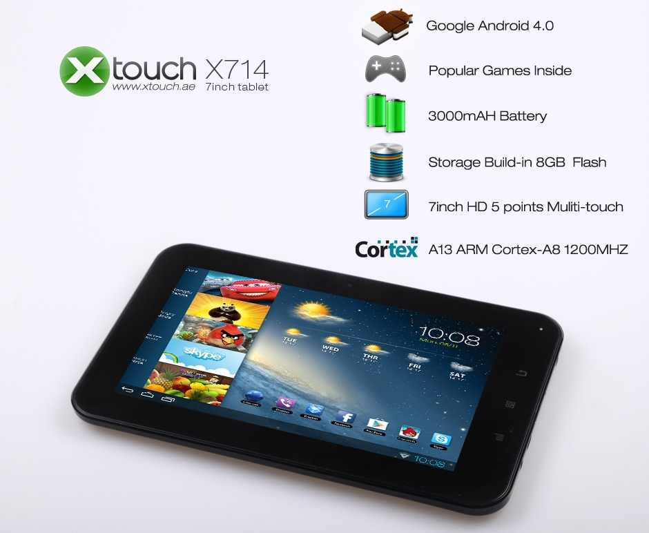 Xtouch X714 Android Tab 7agat Online