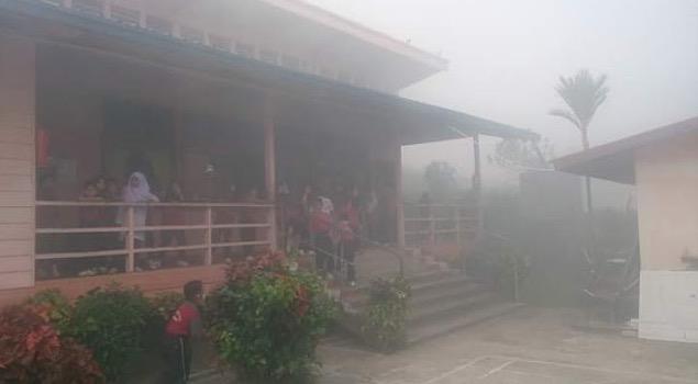 Jerebu Teruk di Sabah 2016