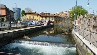 Naviglio della martesana...4 passi in citta' - Gite in Lombardia