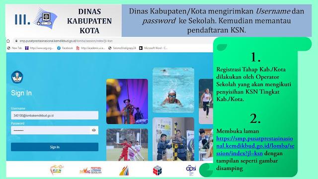 panduan registasi daring ksn smp tahun 2020 dinas kabupaten kota tomatalikuang.com 1