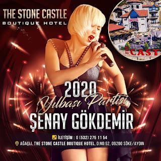 Stone Castle Restaurant Kuşadası Yılbaşı Programı 2020 Menüsü