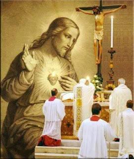 estampa del Sagrado Corazón de Jesús