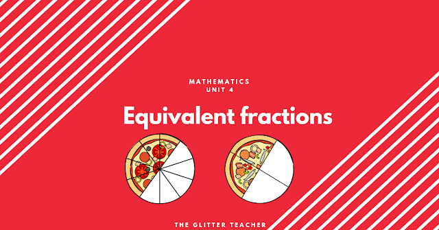 Equivalent fractions. Maths year 6