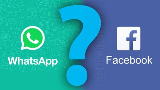 fim privacidade whatsapp compartilhar dados facebook