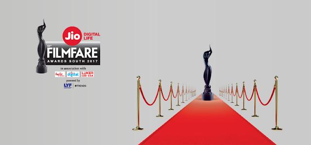 64th Filmfare Awards South 2017 Winners List