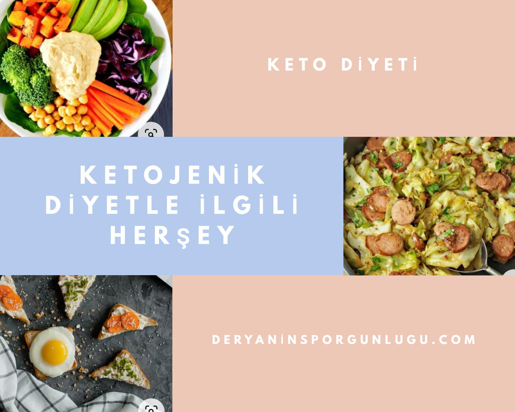 keto diyeti ile kilo vermek